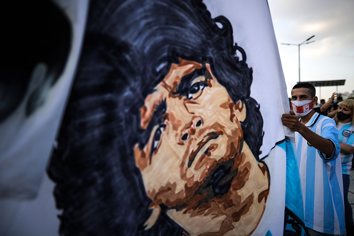 Maradona vive en el pueblo Maradona Lives on in the People
