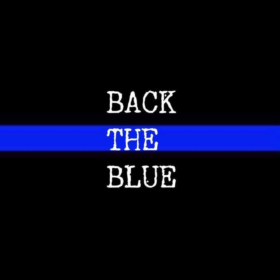 Backing the Blue