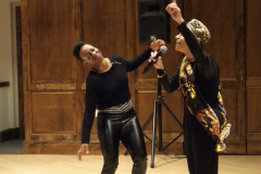 Performance at Williams College 2019Live Improvisation with MFA Kera and Mike Russell of Black Heritage at Williams College and Smith College in 2019
