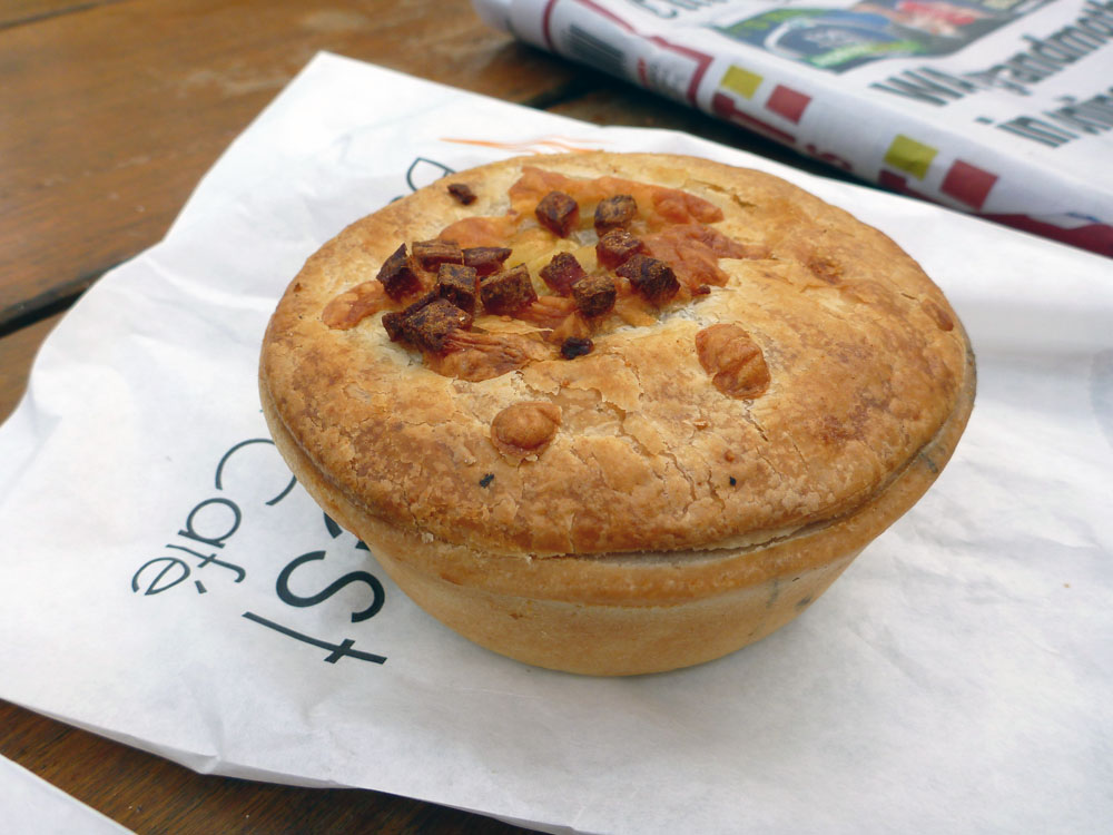 Cheese and Bacon Pie Rottnest Bakery