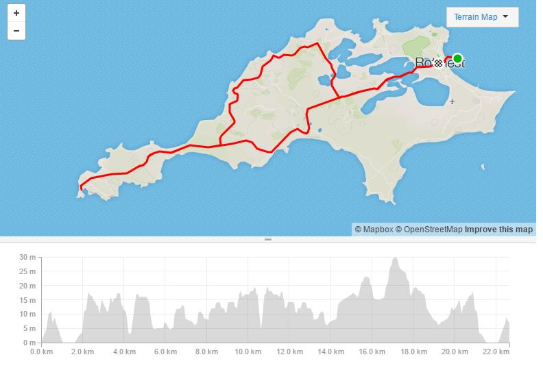Rottnest West End Strava
