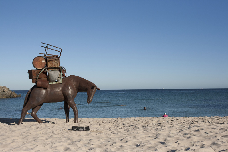 Horse 2016 Sculptures by the Sea Cottesloe