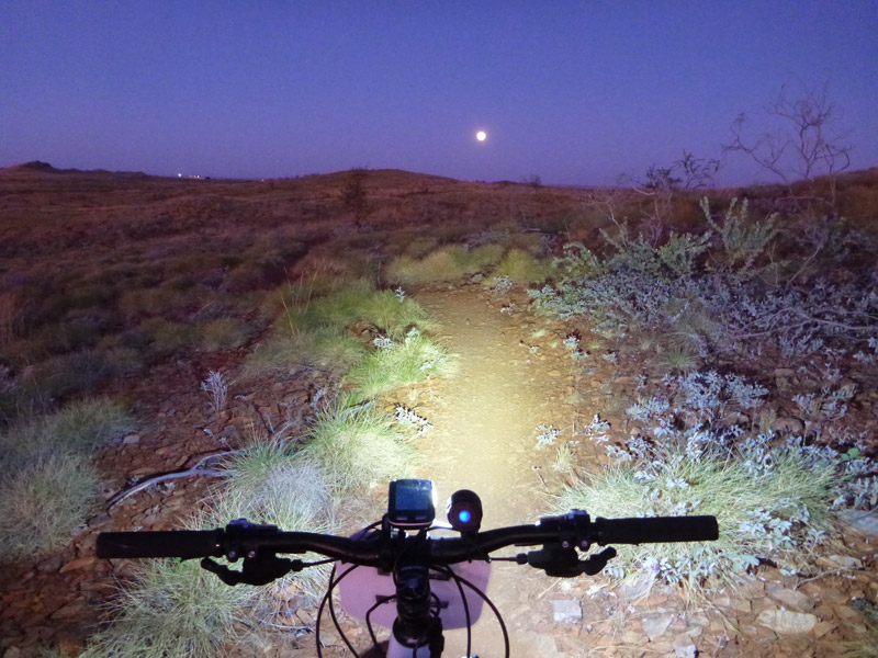 Cycle-at-night-Karratha