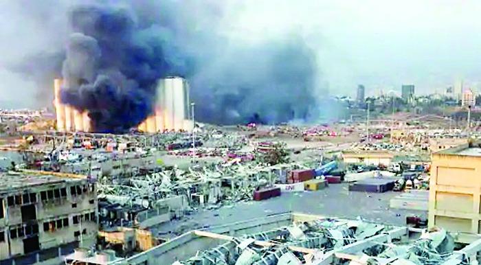 लेबनान में धमाका, 100 की मौत, 240 किलोमीटर तक महसूस हुए झटके