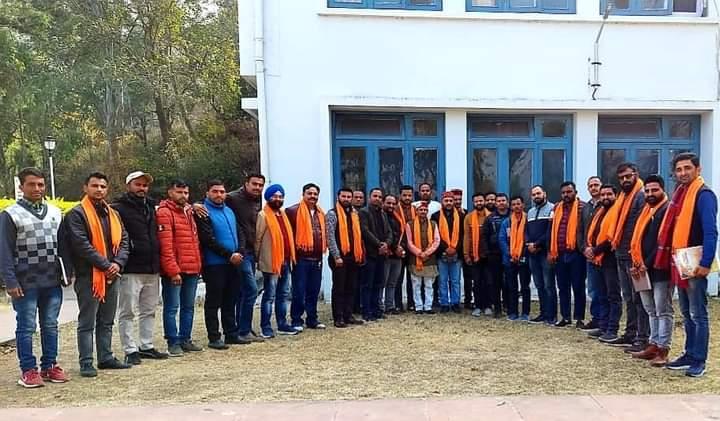 राजगढ : 2022 जीतने के लिए भाजपा युवा मोर्चा ने बनाई रणनीति