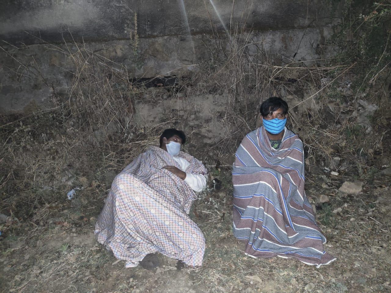 पुलिस ने मात्र एक घंटे के भीतर गिरफ्तार किए सरांहा कोविड़ सेंटर से फरार दोनों आरोपियों को