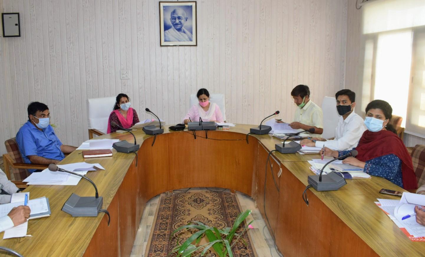 सिरमौर जिला के बच्चों में कुपोषण का स्तर राष्ट्रीय स्तर से कम-प्रियंका वर्मा