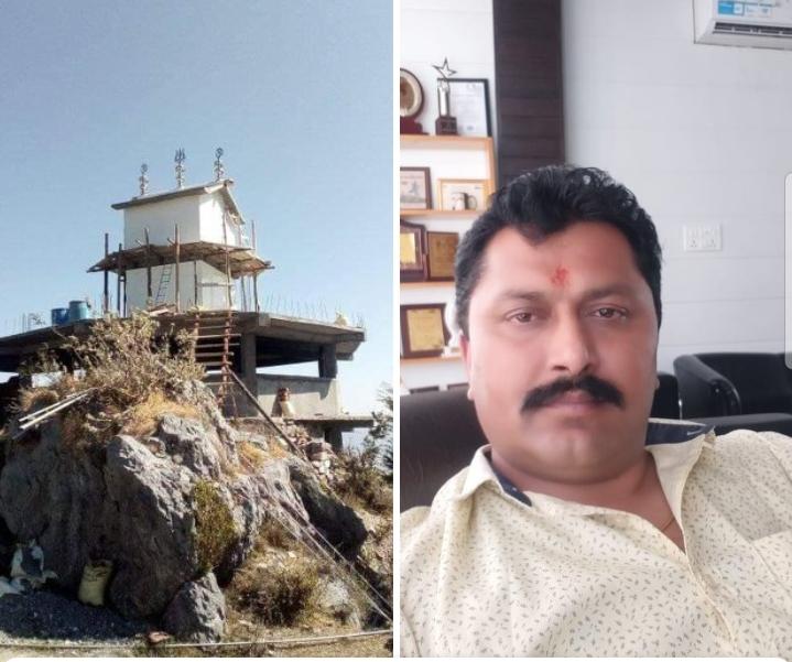 शिल्ला शिरगुल मंदिर जेन्द टिम्बा के लिए युवा उद्यमी जगदीश तोमर ने भेजी 11 हजार की राशि , आप भी करें सहयोग