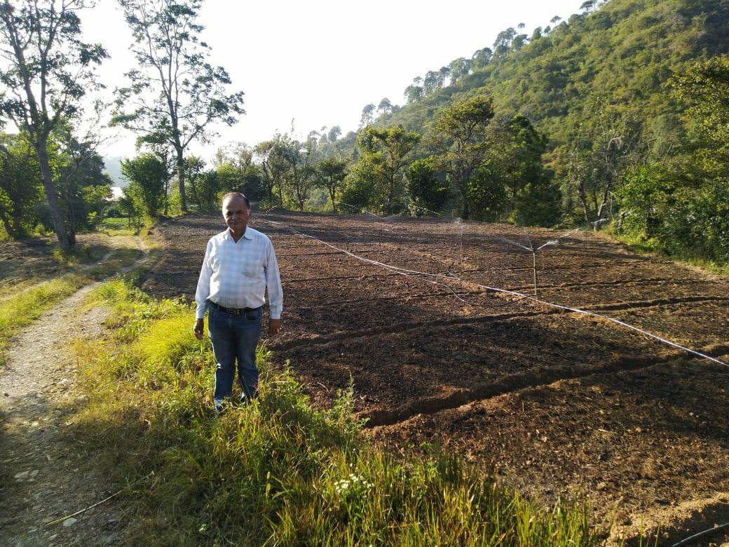 किसानों के लिए वरदान सिद्व हुई ''व्यक्तिगत टैंक सिंचाई योजना और ड्रिप स्प्रिंकलर'' योजना