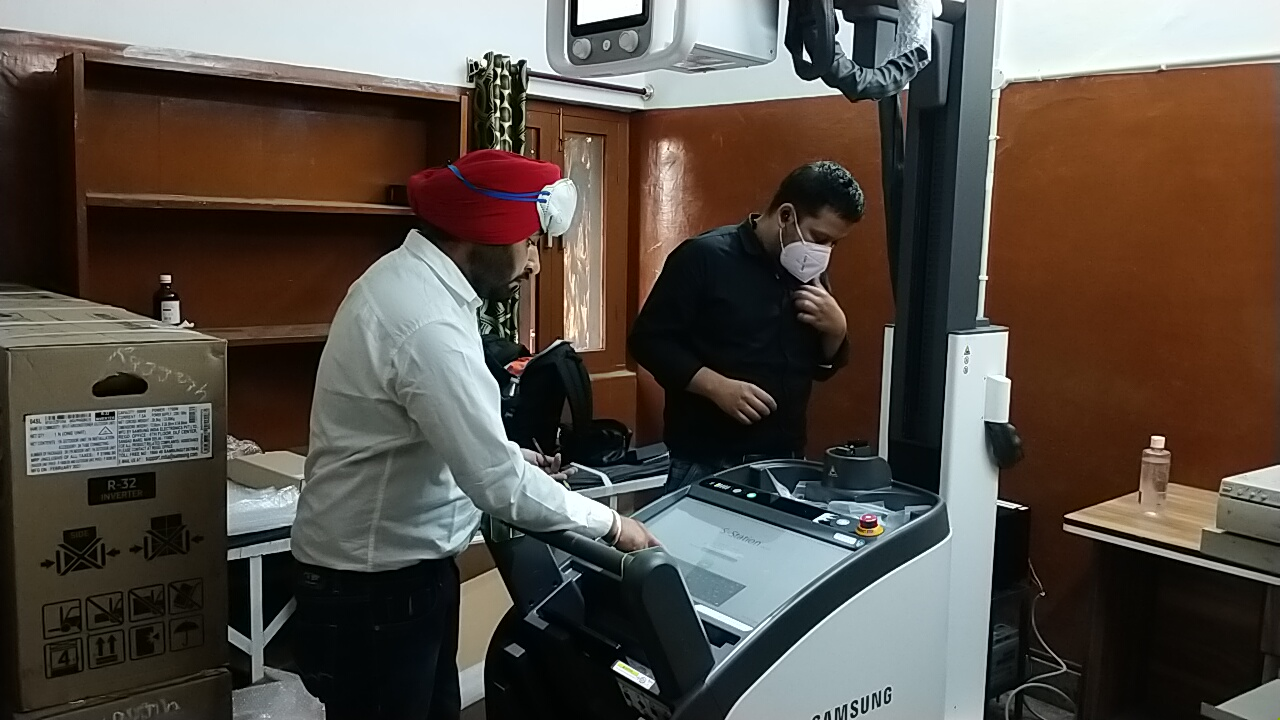 राजगढ़ अस्पताल में लोगों को मिलेगी आधुनिक अल्ट्रासाउंड एक्सरे की सुविधा