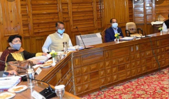 जानिए -हिमाचल प्रदेश मंत्रिमण्डल के निर्णय