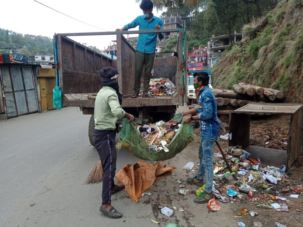प्रदेश सरकार की प्रोत्साहन राषि से सफाई कर्मचारी प्रोत्साहित