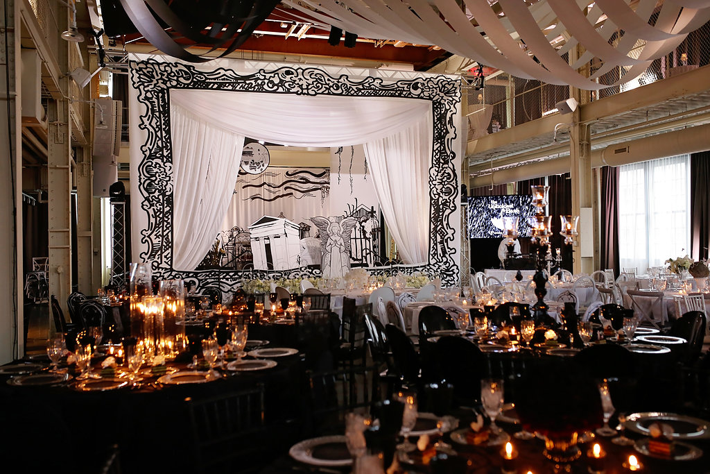 Custom Stage Backdrop and Stage Frame
