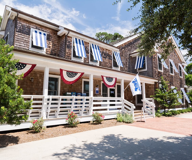 Twiddy vacation rentals office located in Duck, OBX