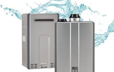 Rinnai Tankless Water Heater picture
