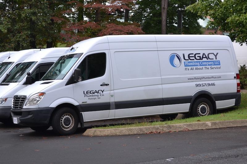Legacy plumbing trucks
