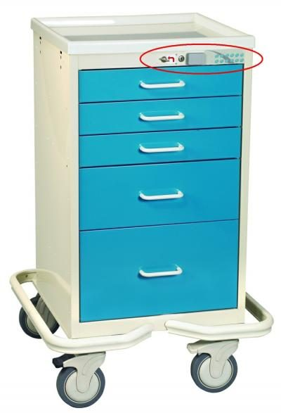 Mini Medical Tower (5 Drawer Tower w/Proximity Reader)
