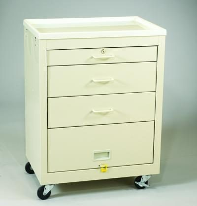 Value Medical Carts - 3 Drawer (MVP-324P-B)