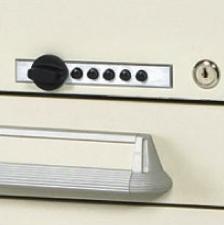 Push Button Locking Option