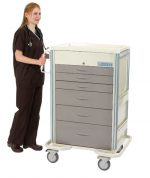 Anesthesia Carts (SELECT Electronic Lock - 6 Drawer Cart SET-630A-TP)