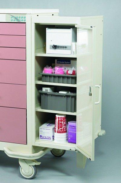 Medical Cart Accessories - Storage Standard - Cart Extender
