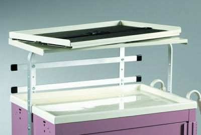 Medical Cart Accessories - Shelving - Shelf Unit Swivel