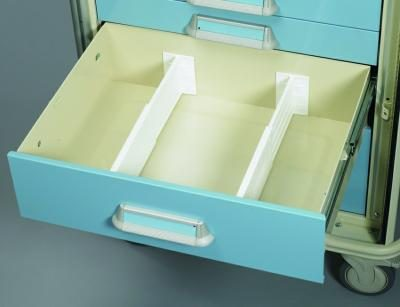 Medical Cart Accessories - Drawer Divider Kit