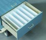 "Medical Cart Accessories - Drawer Dividers - 9"" Set"