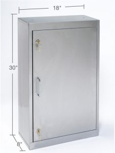 Narcotic Storage Cabinets - Key Lock (TNC-2SS)