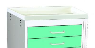 Medical Cart Accessories - Plastic Top Mini (TPT-3)