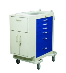 Medical Cart Accessories - Storage Standard - Side Cabinet