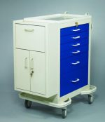Medication Cart (Punch Card Side Cabinet) - Medicine Carts