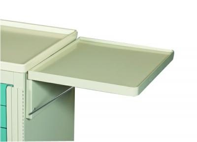 Medical Cart Accessories - Collapsible Side Shelf