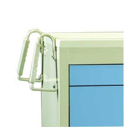 Medical Cart Accessories - Twin Push Handles