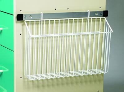 Medical Cart Accessories - Wire Basket Chart Holder
