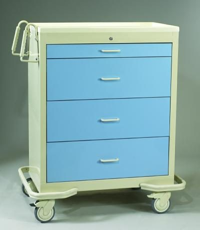 Medication Cart (Punch Card Wide) - Medicine Carts
