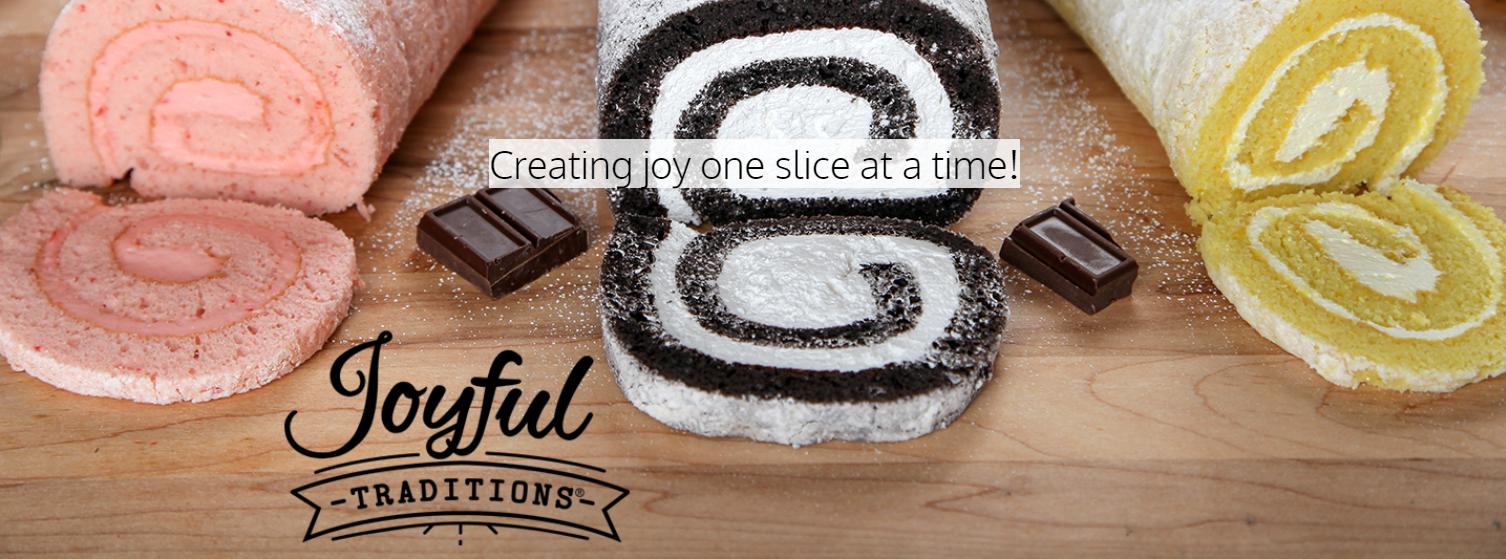 Joyful Traditions Cake Rolls Fundraiser 2019