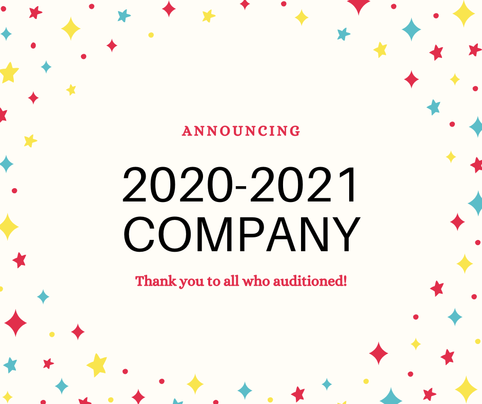 Announcing 2020-2021 Company!