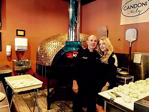Nabruzzi Owners Pizza Oven
