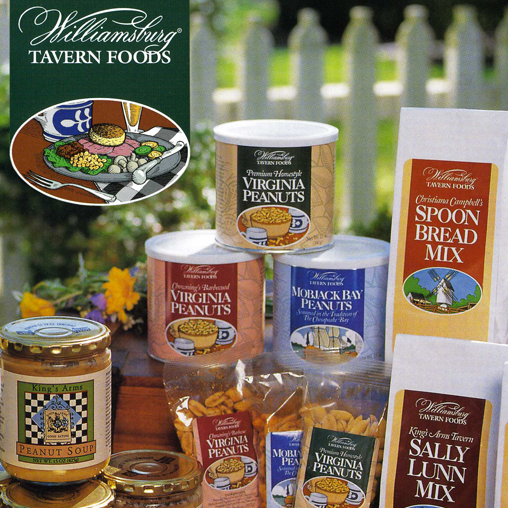 Colonial Williamsburg Food Packaging featured