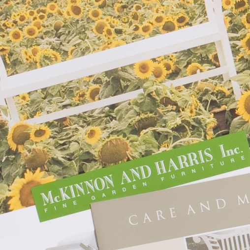 McKinnon and Harris Marketing Materials for Furniture Manufacturer featured