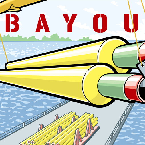 The Bayou Companies Poster Artwork featured