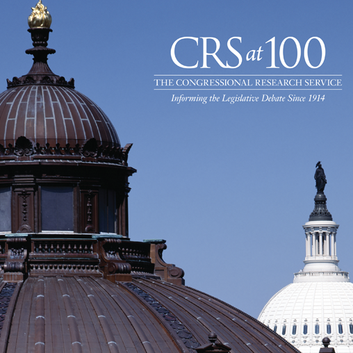 The Library of Congress-Congressional Research Service 100 Year Anniversary Book featured