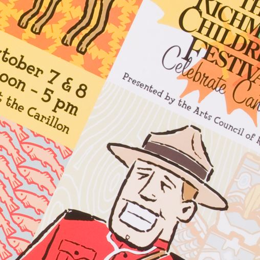 The Richmond Children's Festival – Marketing Materials