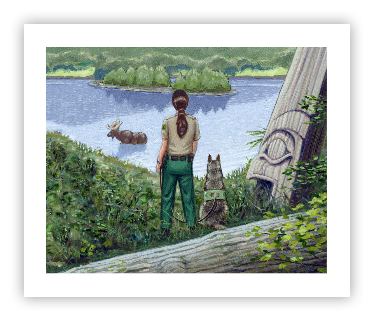 USDA-Forest-Service-Law-Enforcement-Painting-portfolio