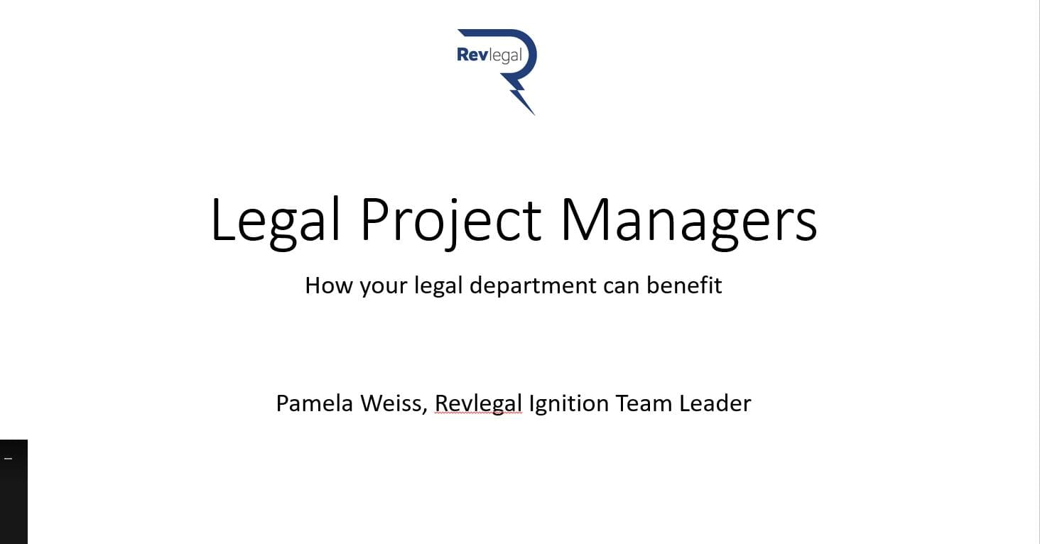 legal project managers