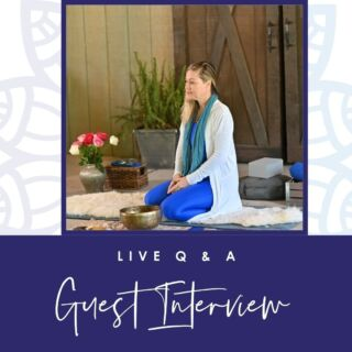 LIVE Q + A  WiseMind Yoga Founder Jennie Wise answers questions on yoga therapy, mindfulness, mediation, stress reliance + more   WiseMind Soul Warrior Student Lindsay Withers guest interview  Join was Lindsay shares her experience + story