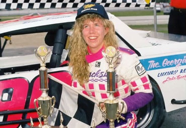 Renee Dupuis Thompson International Speedway Pro Four Victory Lane