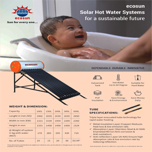 ecosun-tube-specifications
