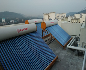 ecosun solar water heater project